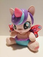 My Little Pony Hasbro Baby Flurry Heart Talking Lights up WORKS