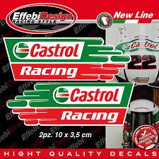 Kit Adesivi/Sticker CASTROL Moto Gp SBK Honda cbr 600 1000 VTR SP1 TOP QUALITY !
