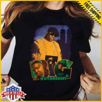 Vintage 90s T-Shirt NOTORIOUS BIG T SHIRT Biggie Smalls RAP Hip Hop Reprint Tee