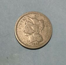 1865 Liberty Head Nickel 3 Cent US Civil War Era 3c Coin Money