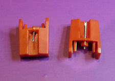 Pair (2) DIAMOND styli for Sanyo ST-09 ST09D Sony PSJ20 PSLX56P PSLX46P stylus