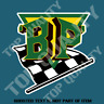 VINTAGE BP PETROLIANA Decal Sticker Vintage PETROL OIL Hot Rod Rat Rod Stickers