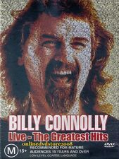 BILLY CONNOLLY LIVE - The Greatest HITS - Funny Stand-Up Comedy DVD Region 2 & 4