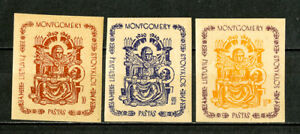 Lithuania Stamps # 1946 Montgomery POW XF OG NH