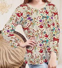 Cats Women Lady V Neck 3/4 Sleeve Tee T-shirt b107 acq00627