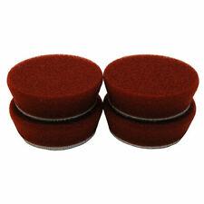 Buff And Shine 272BN Uro-Tec 2-Inch Maroon Heavy Polishing Foam Pad - 4 Pack