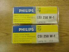 Lot of (2) Phillips CSI 250 W-1 Metal Iodide Lamps