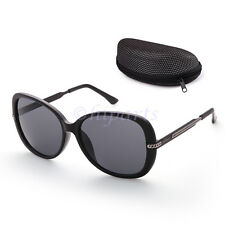 f4afa3263b Polarized Aviator Sunglasses for Women Men Case Vintage Sports Driving  Mirrored
