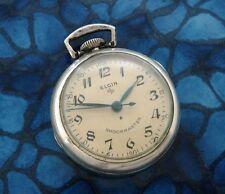 Ladies Vintage Mid-Century Sterling Silver Nurse's/Nun's Pendant Watch -SERVICED