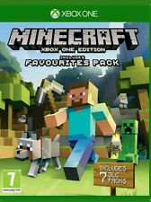 Minecraft: Favourites Pack for Xbox one perfect cond free postage UK edition