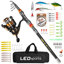 Fishing Rod and Reel Combo Carbon Telescopic Fishing Rod with Spinning D4Z2