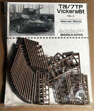 MODELKASTEN FK-1 - T26/7TP VICKERS6T TRACK LINKS - 1/35 PLASTIC