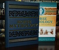 New Norse Mythology Gods Sagas Heroes Illustrated Deluxe Hardcover Slipcase