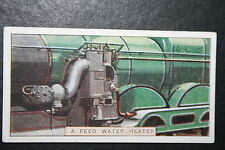 LNER   Worthington  Feed Water Heater and Pump   1920's Vintage Card  VGC