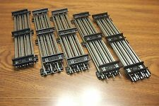 "LIONEL 6-65500 10"" TUBULAR STRAIGHT TRACK TRADITIONAL O GAUGE  10 PIECES"