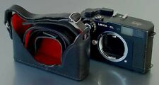 LUIGI's PREMIUM CASE to LEICA CL,DELUXE STRAP INCLUDED,HOLD IT NOW HORIZONTALLY.