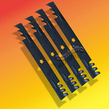 4 Mulching-46-Cut-Mower-Blades-For-AYP-405380 Husqvarna # 403107, 405308 USA