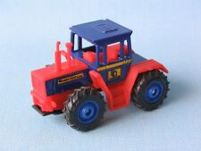 Matchbox Mercedes MB Trac 1600 Turbo Tractor Blue / Red Toy Model