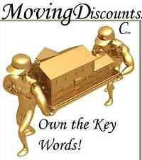 Moving Discounts .com Movers Move Relocate House Apartment Domain Name For Sale