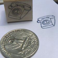 P24 Miniature phone rubber stamp WM