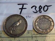 Medaille Ehrenpreis Verein Deutscher Kanarienzüchter 1929 990er Silber (F380-)