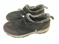 Canyon River Blues CRB Shoes Black Columbus Leather Slip On Winter Women's 9.5
