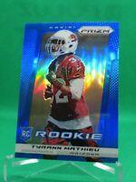 2013 Panini Prizm BLUE #296Tyrann Mathieu ROOKIE Kansas City Chiefs / LSU