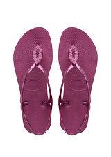 Havaianas tira dedo Zapatos para baño sandalias luna Special New Pink lila nuevo