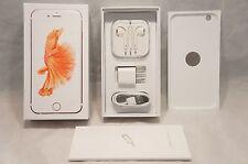* iPhone 6s Plus Empty Retail Box Full Accessories Rose Gold