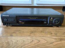New listing Panasonic Vcr Vhs Player Pv-V4620 4 Head Hi-Fi Stereo Video Cassette Recorder