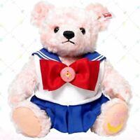Steiff x Sailor Moon Teddy Bear Plush Doll 25th Anniversary Limited Japan