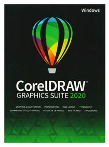 CorelDRAW Graphics Suite 2020 - Full Commercial Version, New Retail Box