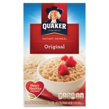 Quaker Oats Foods Instant Oatmeal - Original - Packet - 11.80 Oz - 10 / Box