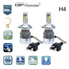 COB H4 HB2 9003 LED Headlight Kit Hi/Lo Power Bulbs 6000K