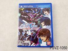 Mobile Suit Gundam Seed Battle Destiny Japanese Import PS Vita Japan US Seller A