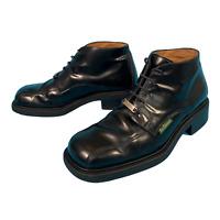 Ben Sherman Men's Black Boots Size Uk 7.5 EUR 41 Leather Formal High Top Shoes