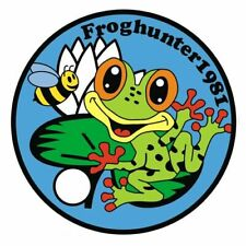 Pathtag  14093  -  Frog  and  Bee   -geocaching/geocoin/extagz alt.  *Retired*