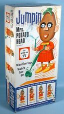 1966 Jumping Mrs. Potato Head Wind-up Toy with original Box Operable Hasbro
