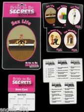 BRIDE TO BE SECRETS REVEALED GAME HENS NIGHT BRAND NEW IN PACK