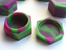 1 New 17ml hexagon silicone containers everyday storage Non-stick FDA grade jar