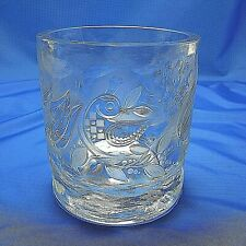 Rosenthal Studio Line Crystal Frosted Cut Glass Design Signed Bjorn Winblad XLNT