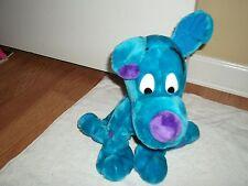 Blue and Purple Dog Plush Stuffed Animal Toy, Medium Size - Unique & Sweet!!