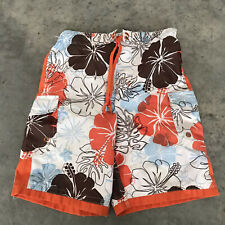 Joe Boxer Tropical Boys Kids Swim Trunks Swimwear Age Size 7/8