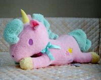 Huge Sanrio Little Twin Stars Cotton Pink Candy Unicorn Pillow Plush Doll 23""