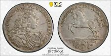 1694-HB Brunswick Luneburg German States 2/3 Taler AU55 PCGS Certified