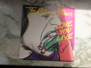 THE ROLLING STONES  -  Love You Live  ( 2-CD-BOX )