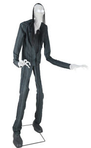 HALLOWEEN LIFE SIZE ANIMATED SLIM SOUL STEALER PROP HAUNTED HOUSE-7 FT