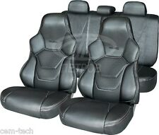 UNIVERSAL SEAT COVERS  PERFORATED LEATHERETTE FOR YOUR CAR