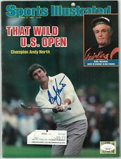 Andy North signed Sports Illustrated Full Magazine 6/24/1985 - JSA (US Open)