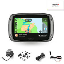 Tom Tom Tomtom Rider 550 World Motorbike Motorcycle Satellite Navigation Maps